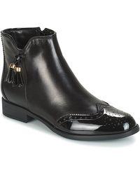 André Alina Mid Boots - Black
