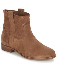 André Titaine Mid Boots - Brown