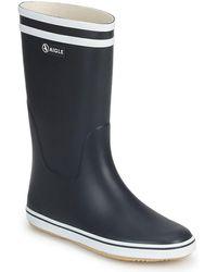 Aigle Malouine Bt Wellington Boots - Blue