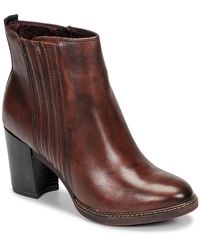 Tamaris Joly Women's Low Ankle Boots In Brown