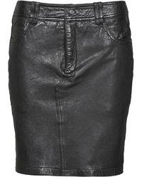 Oakwood Cross Skirt - Black