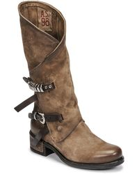 A.s.98 Isperia Mid Boots - Brown