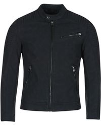 Esprit - Chantoura Leather Jacket - Lyst