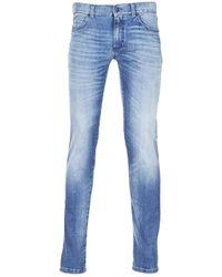 Sisley Burludu Skinny Jeans - Blue