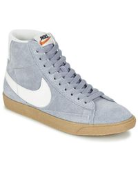 Nike   Blazer Mid Suede Vintage W Shoes (high-top Trainers)   Lyst
