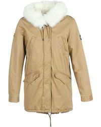 Superdry Falcon Rookie Parka Jacket - Brown