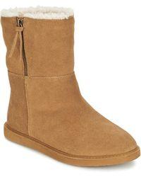 Roxy Jocelyn J Boot Brn Mid Boots - Natural