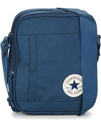 Converse Poly Cross Body Pouch - Blue