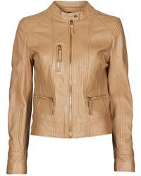 Oakwood Each Leather Jacket - Brown
