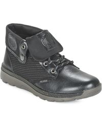 Palladium - Pallaville BAGGY Lea Mid Boots - Lyst