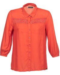 Volcom - Knotty Long Sleeved Shirt - Lyst