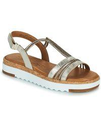 Tamaris Benna Sandals - Metallic
