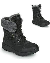 Skechers Grand Jams Snow Boots - Black