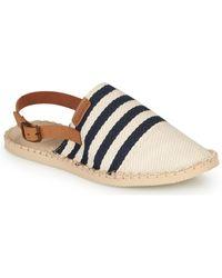 Havaianas Origine Mule Strap Espadrilles / Casual Shoes - Natural