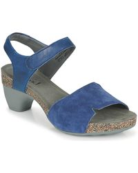 Think! Traudi Sandals - Blue