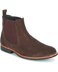 Frank Wright Hopper Men's Mid Boots In Brown