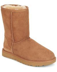 37c512bdd63 Classic Short Ii Women's Mid Boots In Brown