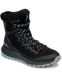 Merrell Bravada Polar Waterproof Mid Boots - Black