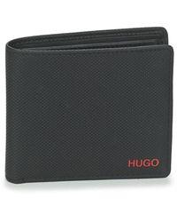 HUGO Austen_4 Cc Coin 10232340 01 Purse Wallet - Black