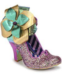 Irregular Choice Chrysalis Court Shoes - Purple