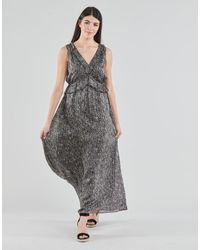 IKKS Bs30265-02 Long Dress - Grey