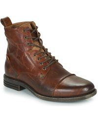 Levi's Emerson Mid Boots - Brown