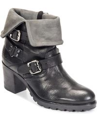 Redskins Zedda Low Ankle Boots - Black