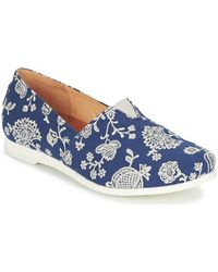 Think! Griva Slip-ons (shoes) - Blue