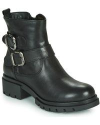 Tamaris Denize Low Ankle Boots - Black