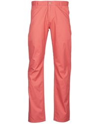 Dockers Alpha Lightweight Twill Trousers - Red