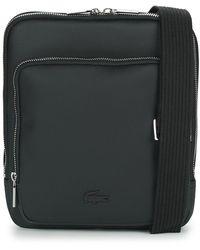 Lacoste Men's Classic Crossover Bag Pouch - Black