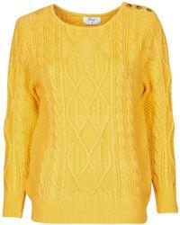 Betty London Jedro Women's Jumper In Yellow