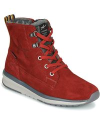 Allrounder By Mephisto Kerry Mid Boots - Red