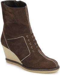 Amalfi by Rangoni - Mabala Women's Low Ankle Boots In Brown - Lyst