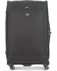 David Jones Verlude 107l Soft Suitcase - Black