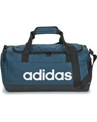 adidas Linear Duffel S Sports Bag - Blue