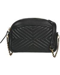 Petite Mendigote Simone Cow Shoulder Bag - Black