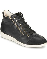 Geox Myria Shoes (high-top Trainers) - Black