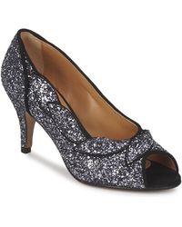 Petite Mendigote Fantine Court Shoes - Black