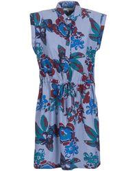 Lee Jeans Floral Dress Dress - Blue