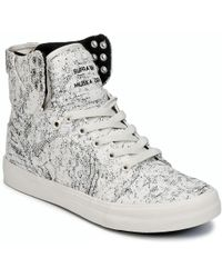 Supra - Womens Skytop Shoes (high-top Trainers) - Lyst