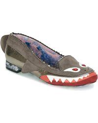Irregular Choice Mr Shark-o Shoes (pumps / Ballerinas) - Grey