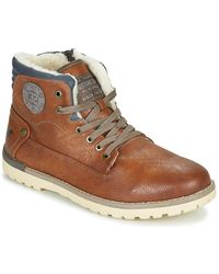 Mustang 4092602 Mid Boots - Brown