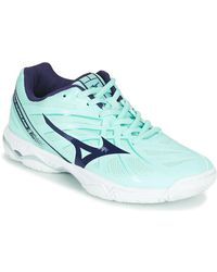 Mizuno Wave Hurricane 3 Indoor Sports Trainers (shoes) - Blue