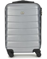David Jones Chauvettini 40l Hard Suitcase - Grey