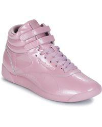 0de7205f98baf Freestyle Hi Women's Shoes (high-top Trainers) In Purple