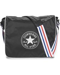 Converse 60cmb55 Coated Retro Messenger Bag Black