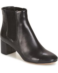 10ee88c7e29 Steve Madden Orabella Suede Boots in Black - Lyst