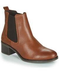 Betty London - Hasni Low Ankle Boots - Lyst