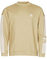 adidas Lock Up Crew Sweatshirt - Natural